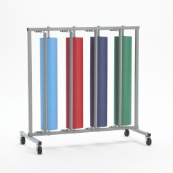 Four Roll Vertical Paper Rack